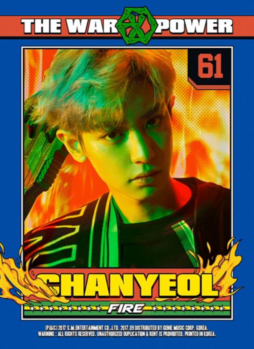 EXOのチャンヨル!火の超能力者です。