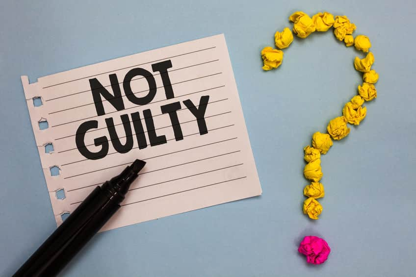 裁判で判決が出たときに掲げる「無罪」と書かれた紙は日本弁護士連盟から借りているということに関する雑学
