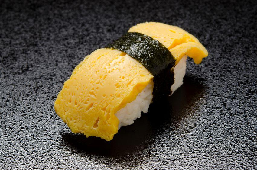回転寿司の玉子には黄身が使われていない?に関する雑学