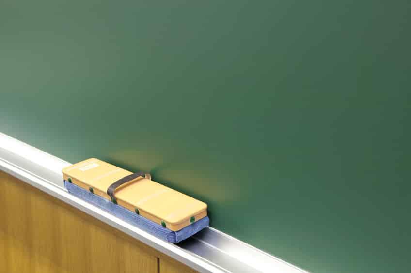 黒板が緑色の理由に関する雑学