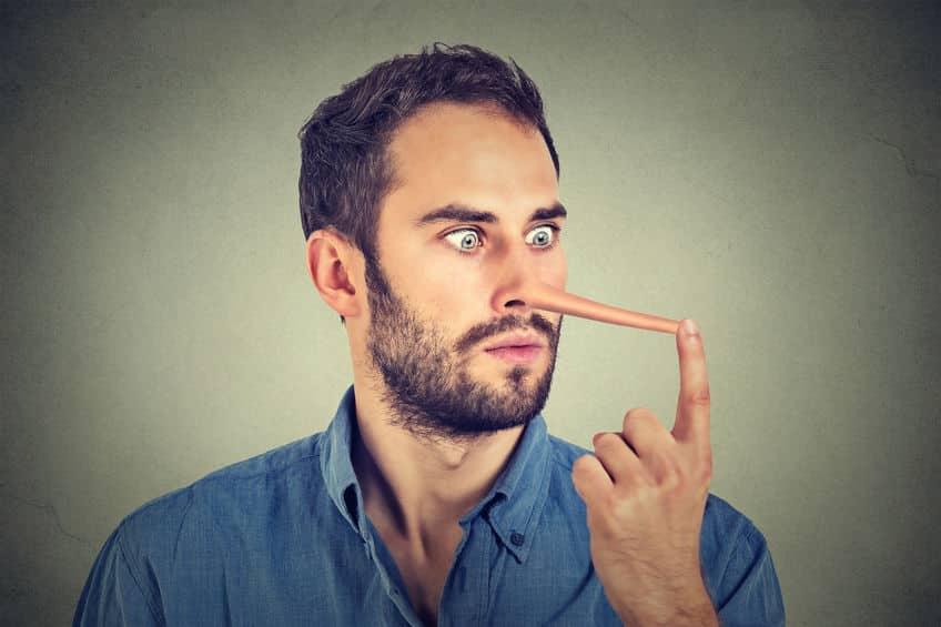 視線の動きでウソを見抜けるということに関する雑学