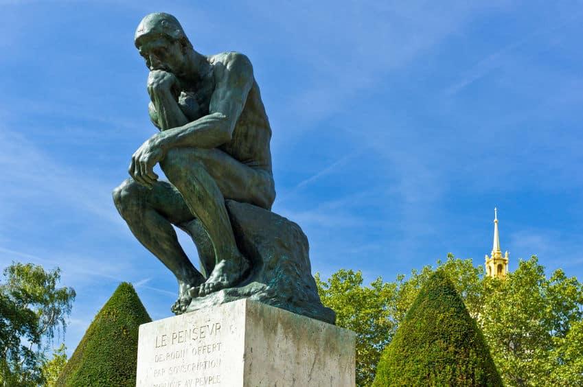 「考える人」は何かを考えている象ではなかったということに関する雑学