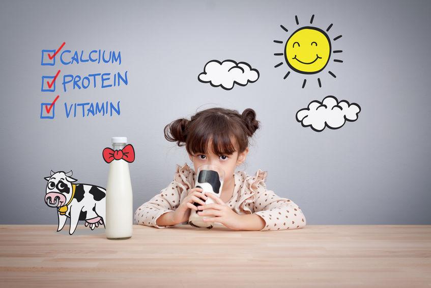 牛乳と身長に関する雑学