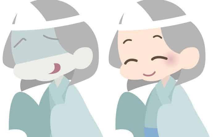 幽霊の額の三角巾の意味は?に関する雑学