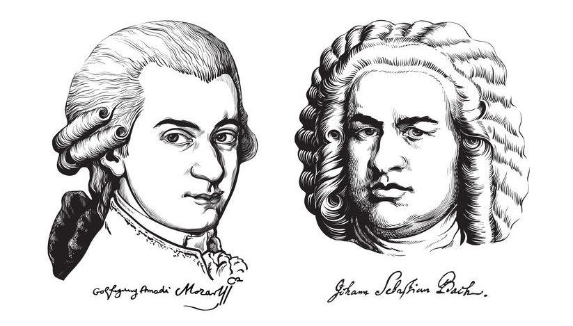 肖像画で見かけるバッハやモーツァルトは「カツラ」という雑学