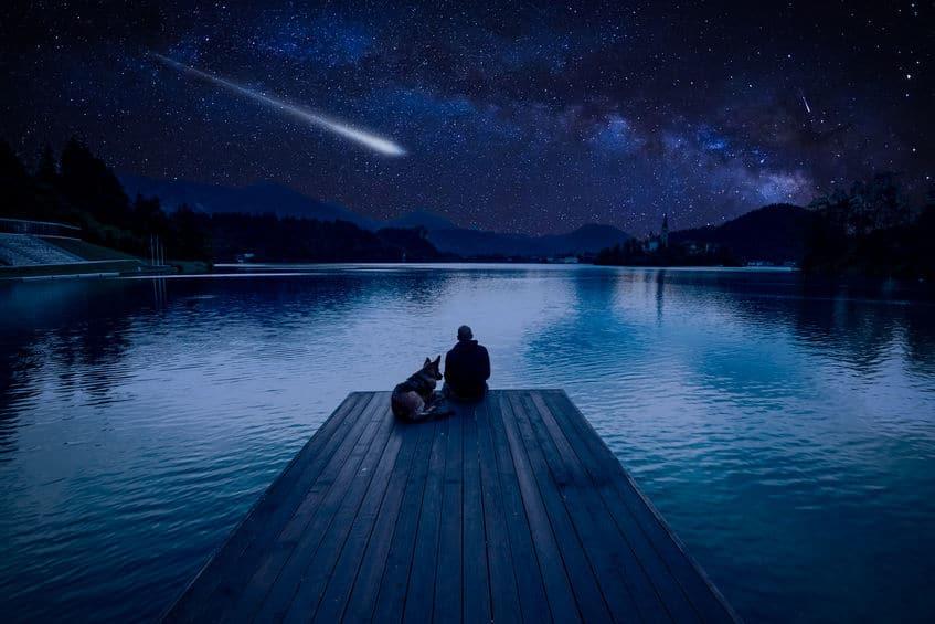 流れ星は当初、不吉の前兆と言われていたというトリビア