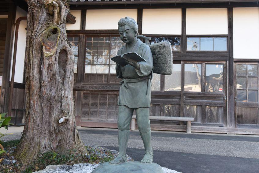 二宮金次郎の本を読む姿にはモデルがいたというトリビア