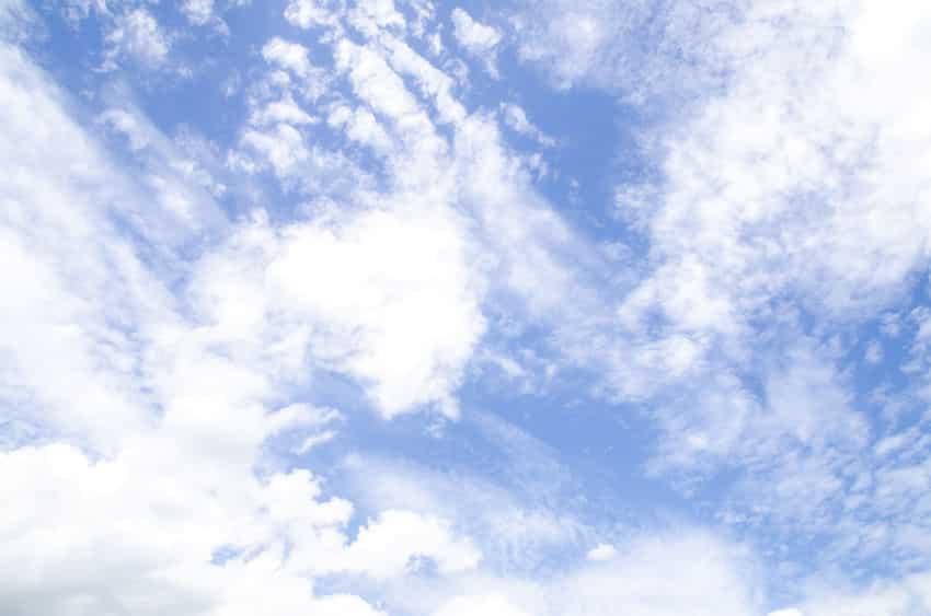 雲は何でできてる?なんで白い?に関する雑学