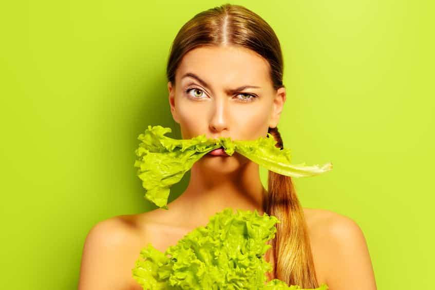 レタスは緑黄色野菜ではないという雑学