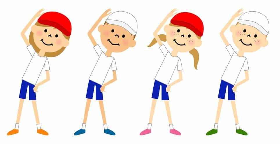 ラジオ体操第1と第2の違いに関する雑学