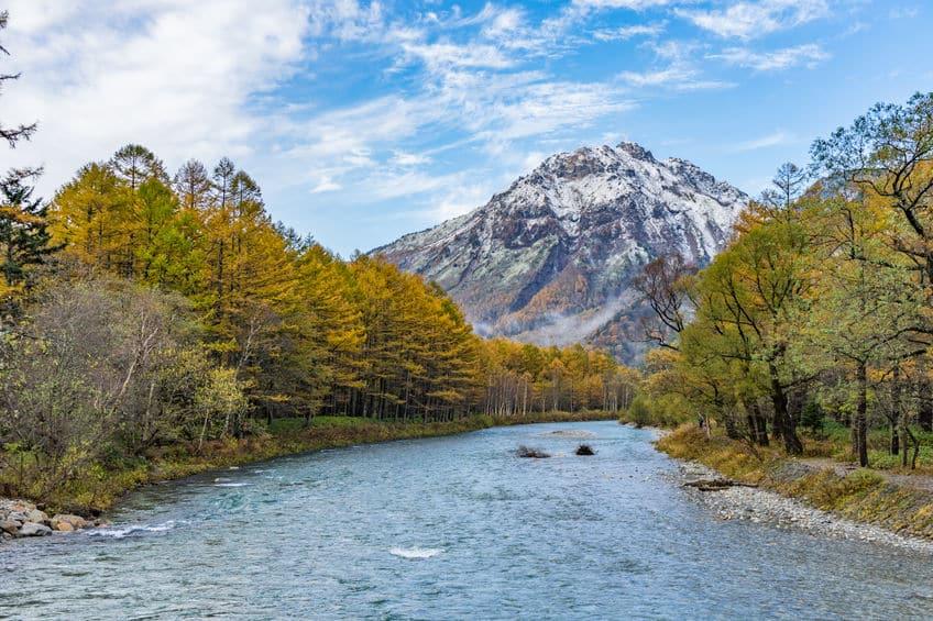 日本で最も長い川・信濃川
