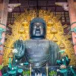奈良の大仏は、造られた当時は黄金色だったという雑学