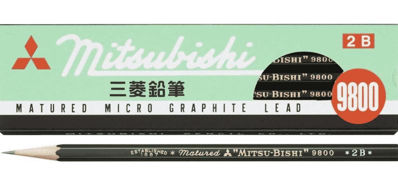 三菱鉛筆は三菱グループではないという雑学
