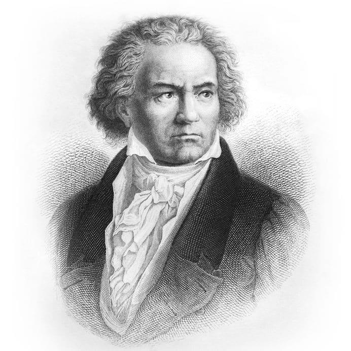 ベートーベンはフリーランスだったのでカツラはかぶらなかったというトリビア