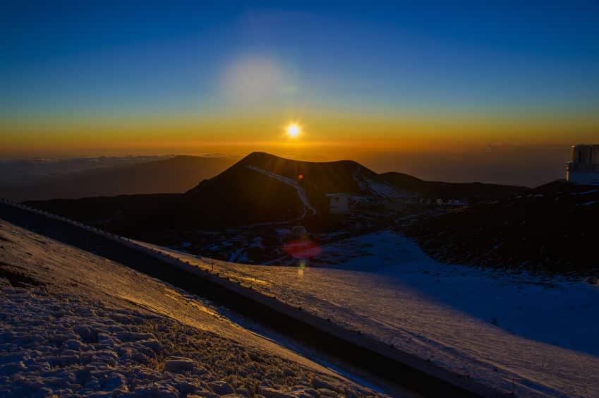 世界一高い山はハワイのマウナ・ケア山という雑学