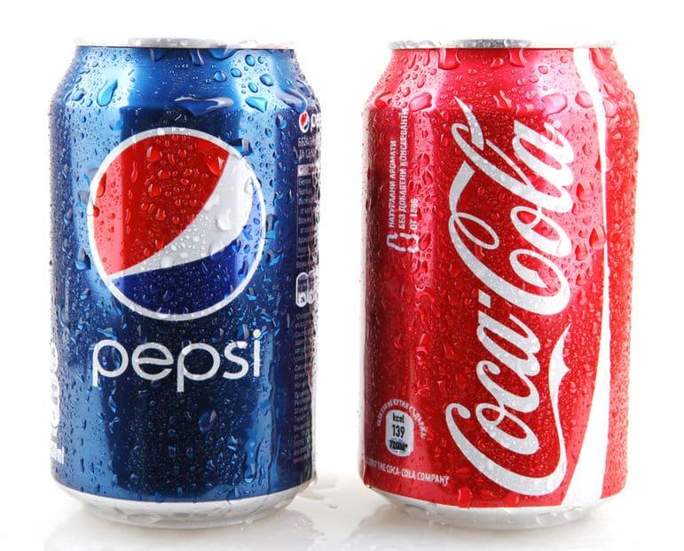コカ・コーラとペプシコーラの違いについてのトリビア