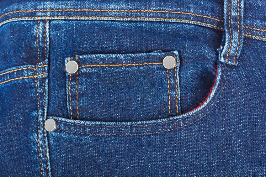 ジーンズの右前ポケットの中にある小さなポケットは「懐中時計入れ」という雑学
