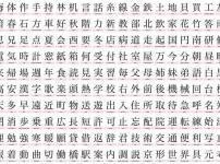 日本で最も画数が多い漢字は「たいと」で84画という雑学