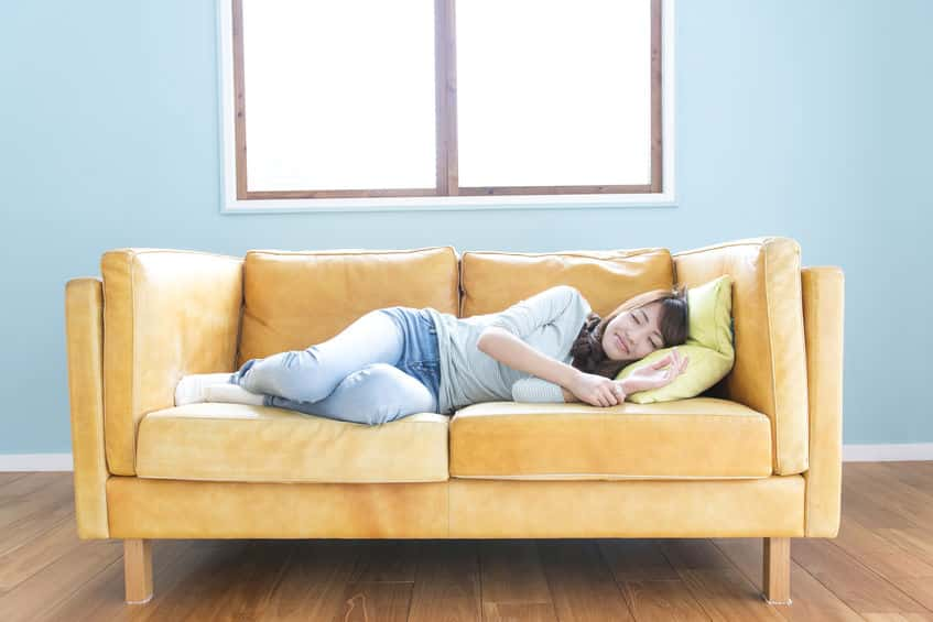 食べてすぐ寝ると牛ではなく健康になるという雑学