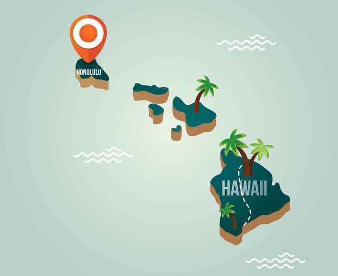 ハワイはプレートの沈み込みによって移動しているというトリビア