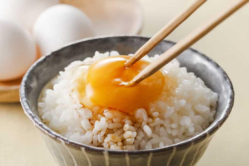 卵かけご飯を食べているのは日本だけという雑学