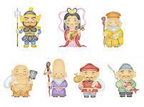 七福神のうち恵比寿様以外は中国の神様という雑学