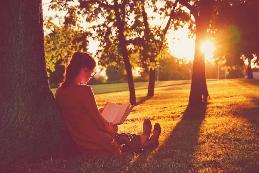 自然の中で読書すると、ストレス解消効果が高まるについてのトリビア