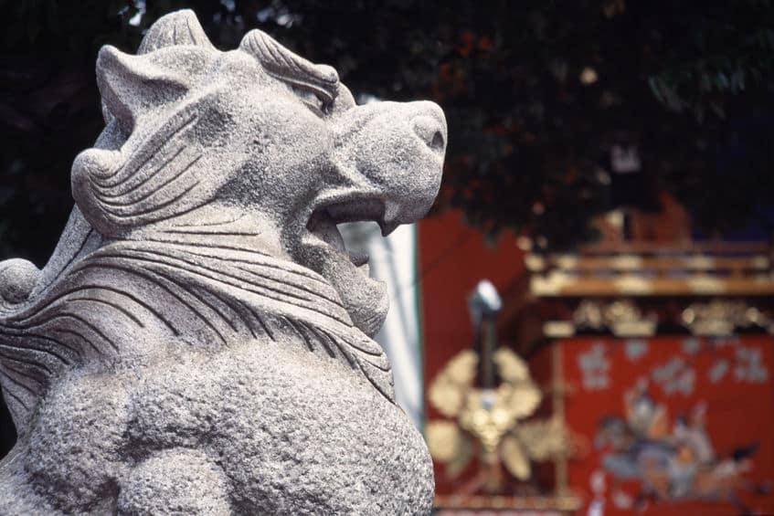 獅子からなぜ「狛犬」に?についてのトリビア