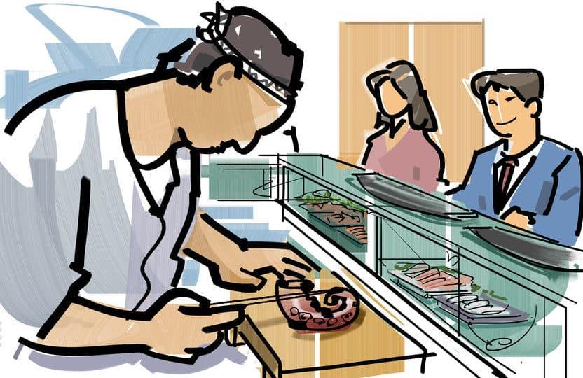 寿司屋でお茶を「あがり」という理由に関する雑学