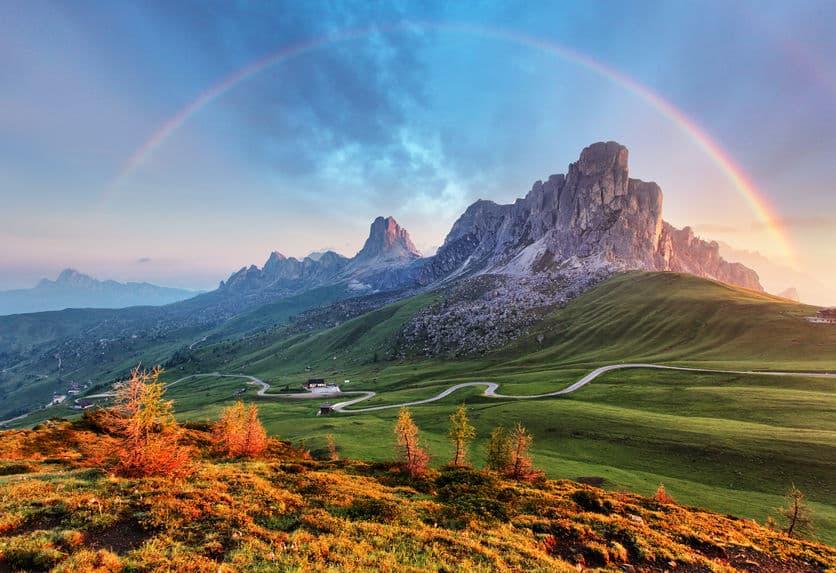 虹は7色きちんとあるとは限らないという雑学