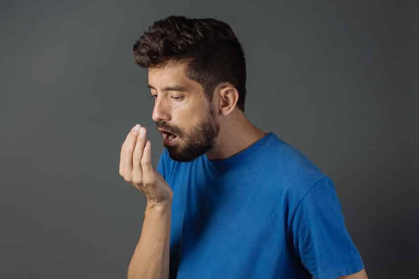 おならのガスは血液に流れ込み、口から外へ出るという実験結果