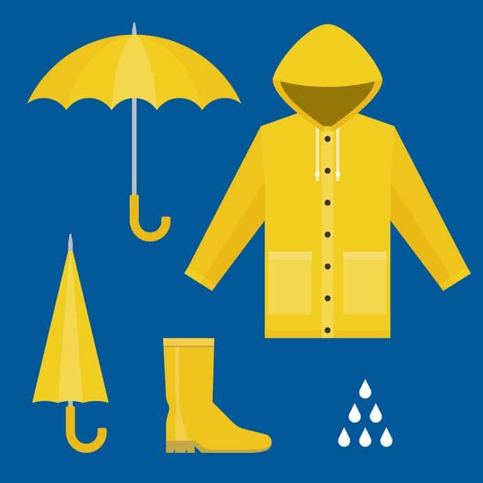 """信長も持っていた!雨具の""""カッパ""""はポルトガル語が由来についての雑学まとめ"""
