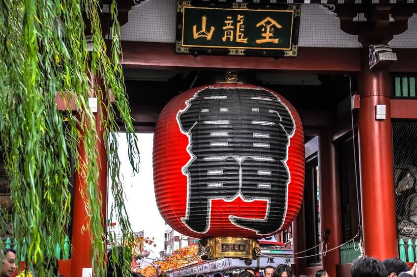 浅草寺の雷門を再建したのはパナソニックという雑学