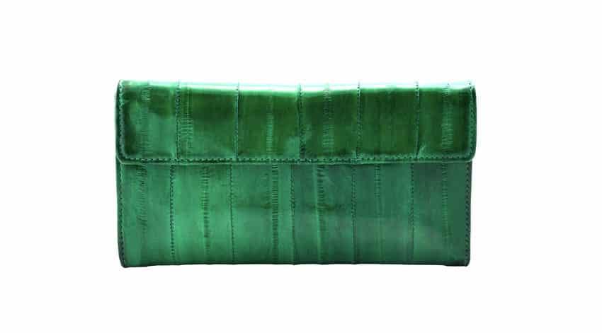 ウナギの革で作った財布があるという雑学