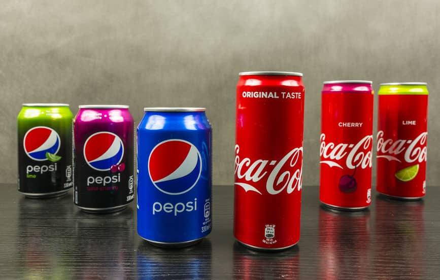 ペプシコーラとコカコーラの違いは?