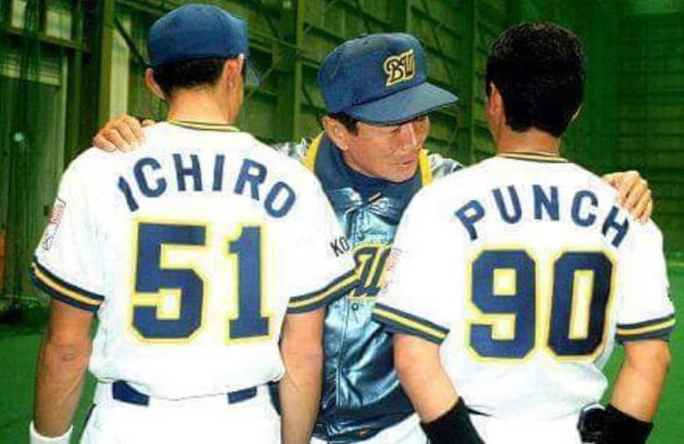 1994年のイチローは仰木彬により鈴木一郎から改名