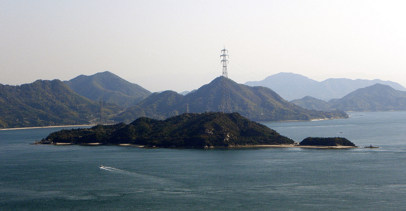 大久野島は昔地図に載っていなかったというトリビア