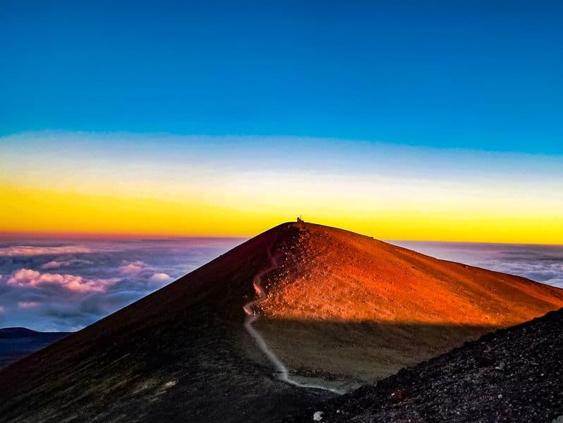マウナ・ケア山は海底からそびえ立つ地球一高い山についてのトリビア