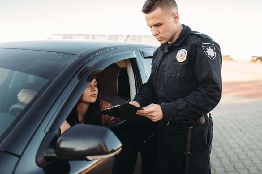 シートベルト着用義務違反で取り締まりを受けたらどうなる?というトリビア