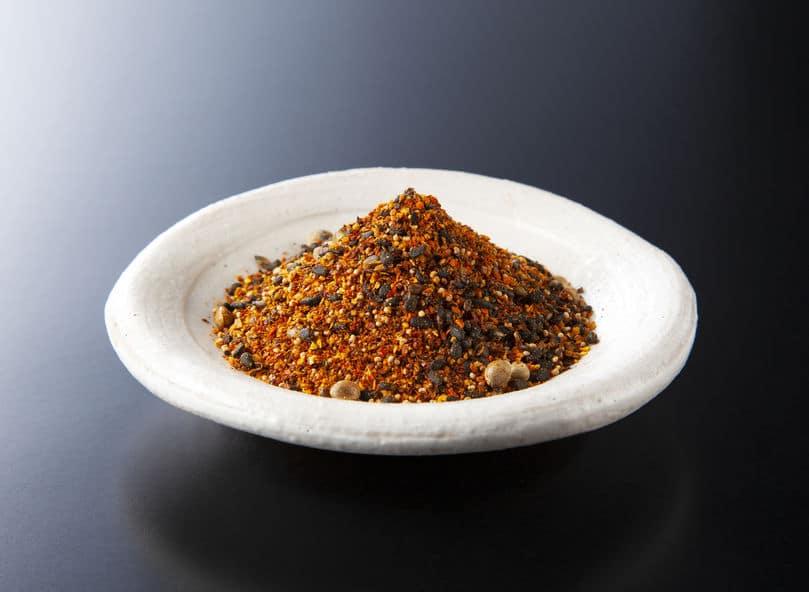 日本三大七味はそれぞれ特徴があるというトリビア