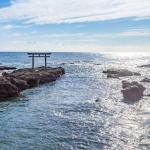 茨城県の大洗磯前神社は海の岩の上に立っているという雑学