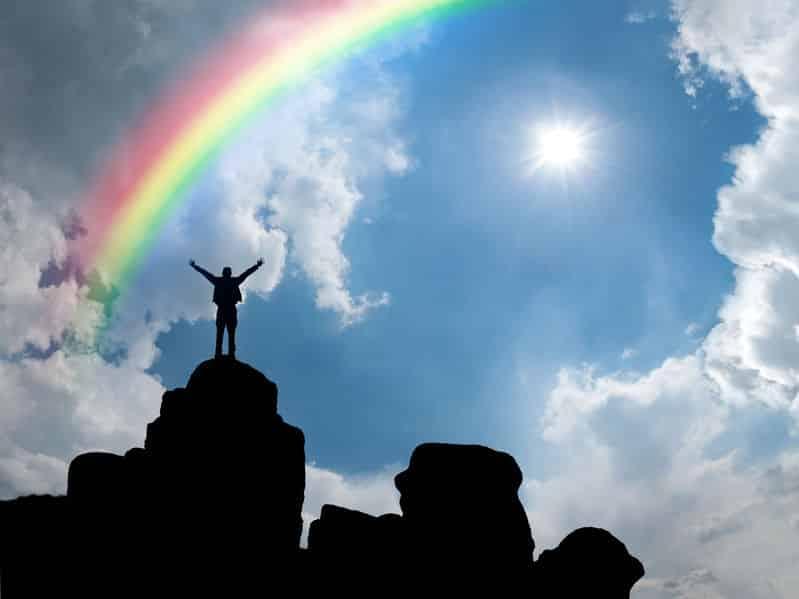 虹は世界共通で幸せの象徴だ!についてのトリビア