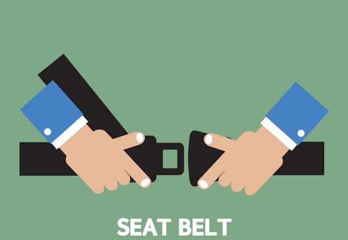 シートベルトの着用義務が免除される場合があるという雑学