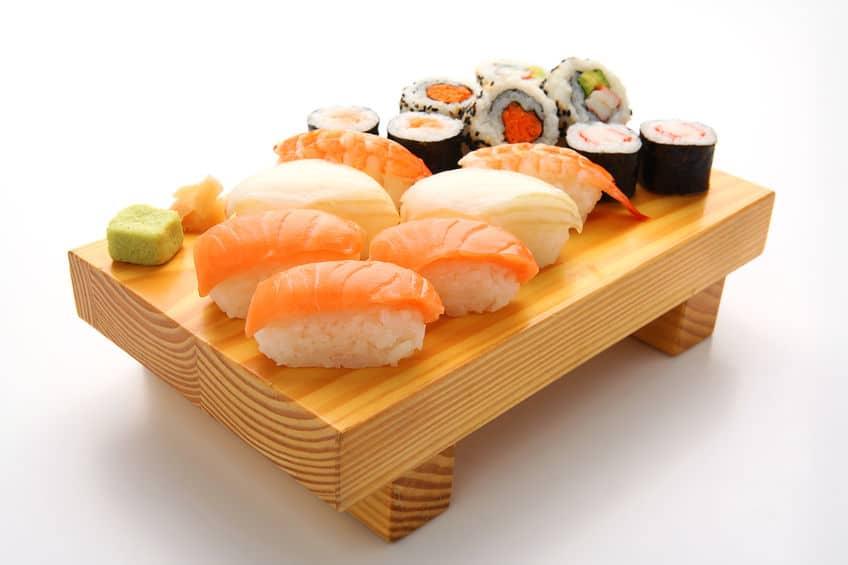 お寿司についているわさびには抗菌効果があるというトリビア