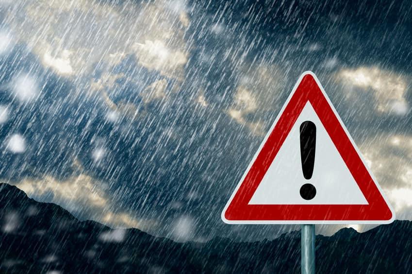 台風の強さに雨は関係がないというトリビア
