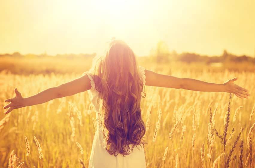太陽の光を浴びて、睡眠の質を上げよう。というトリビア