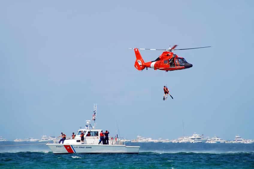 海での遭難事故についてのトリビア