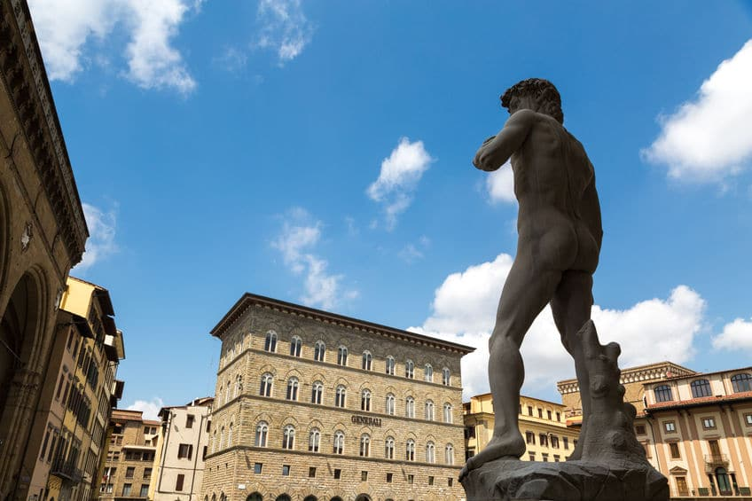 ダビデ像はフィレンツェのいろんなところにあるという雑学