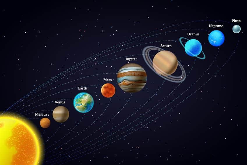 太陽系の惑星の中で、自転の方向が他の惑星と違うのは金星と天王星という雑学