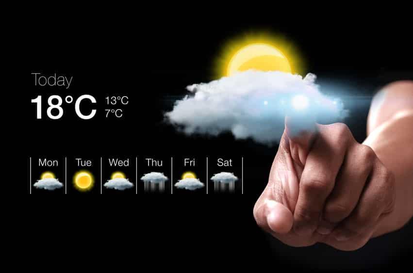 「晴れ時々雨」と「一時雨」の違いは?という雑学